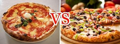 Различия американских и итальянских видов пиццы